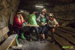 Jamatlon 2018 - v rudniku